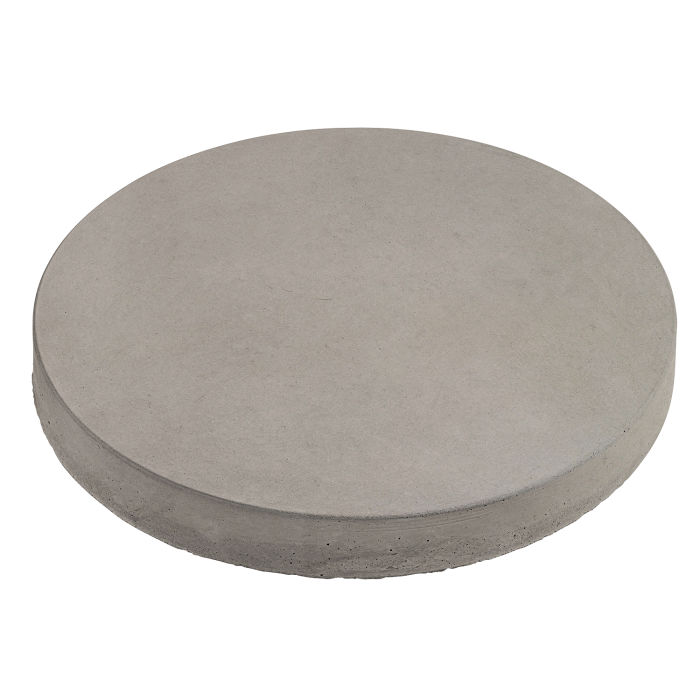 12x12 Roman Pavers Round Natural Gray