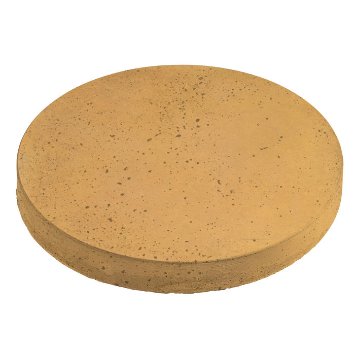 18x18 Roman Pavers Round Buff Travertine