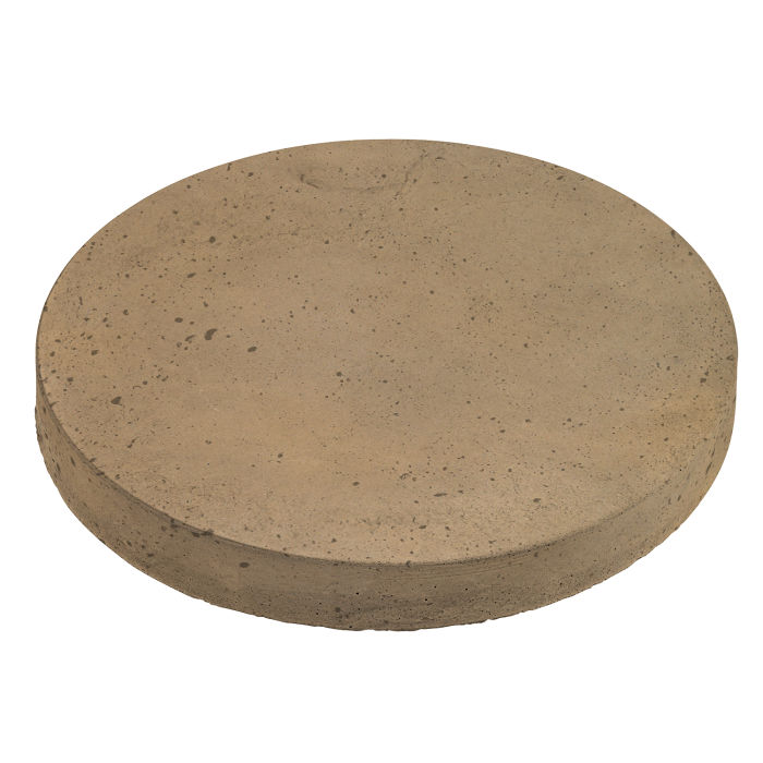 18x18 Roman Pavers Round Caqui Luna