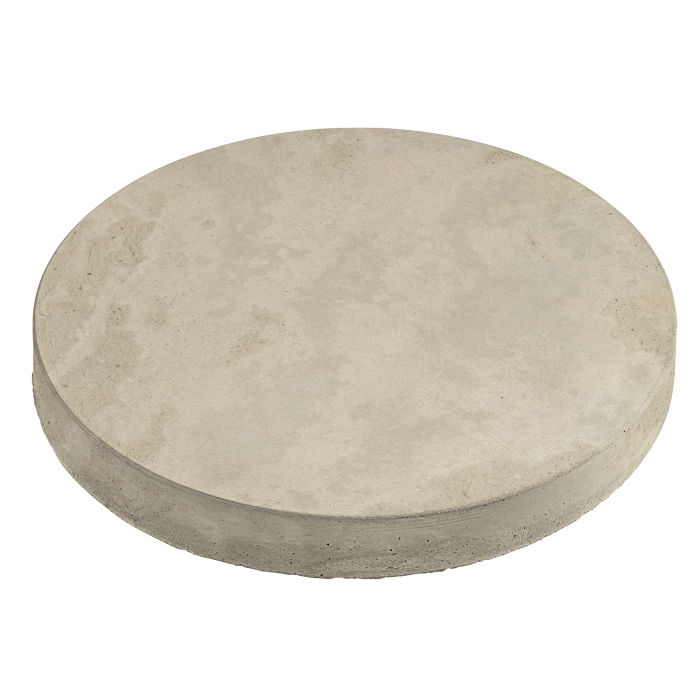18x18 Roman Pavers Round Early Gray Limestone