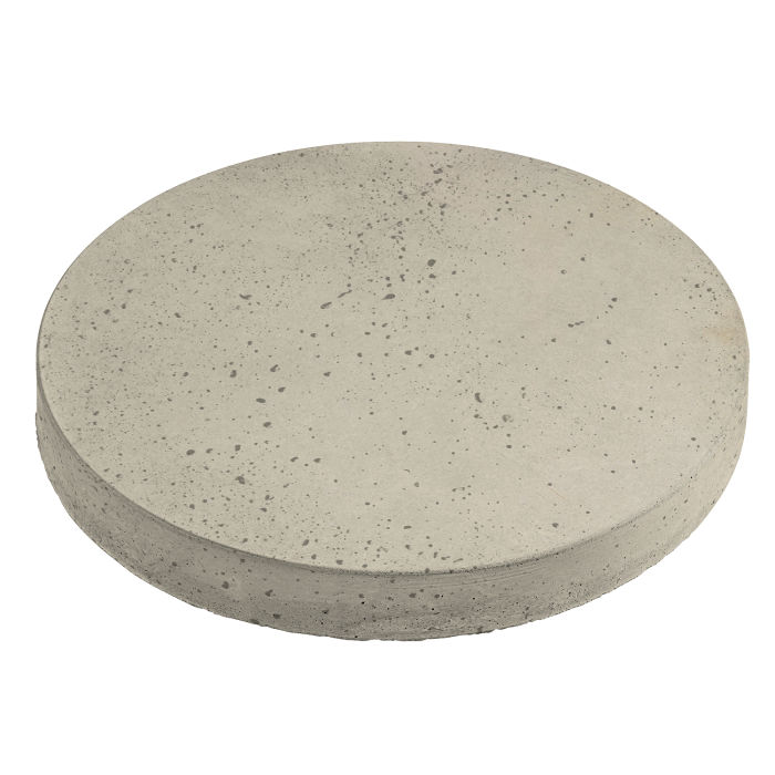 18x18 Roman Pavers Round Early Gray Travertine