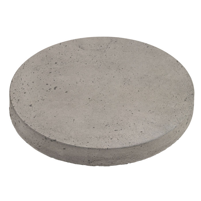 18x18 Roman Pavers Round Natural Gray Luna