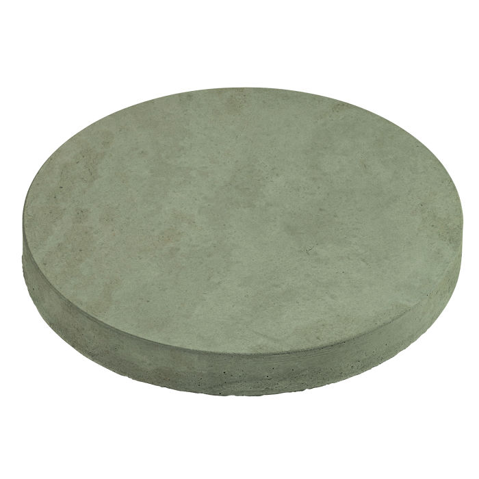 18x18 Roman Pavers Round Ocean Green Light Limestone