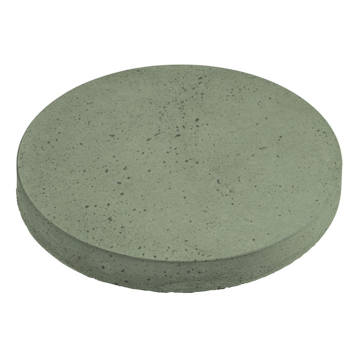 18x18 Roman Pavers Round Ocean Green Light Travertine