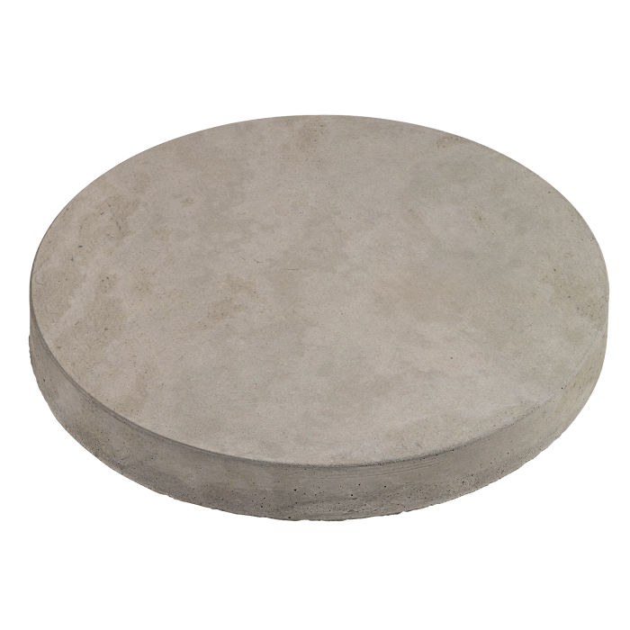 24x24 Roman Pavers Round Natural Gray Limestone