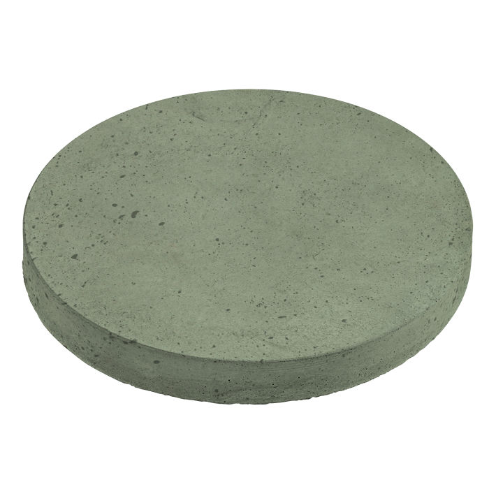 24x24 Roman Pavers Round Ocean Green Light Luna