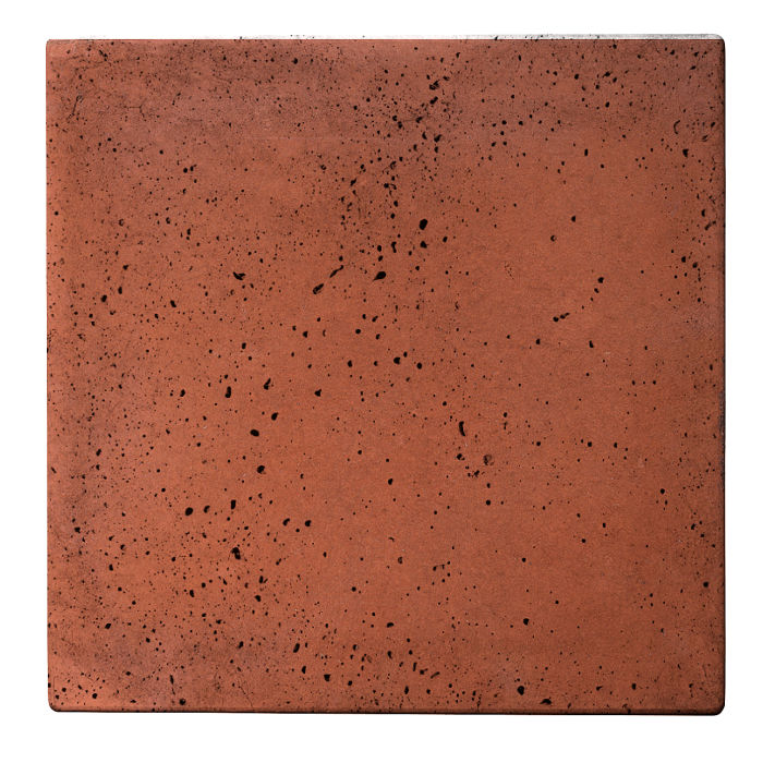 12x12x2 Roman Paver Mission Red Travertine