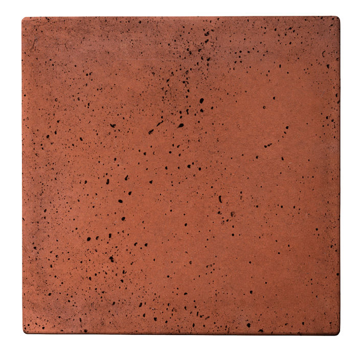 16x16x2 Roman Paver Mission Red Travertine
