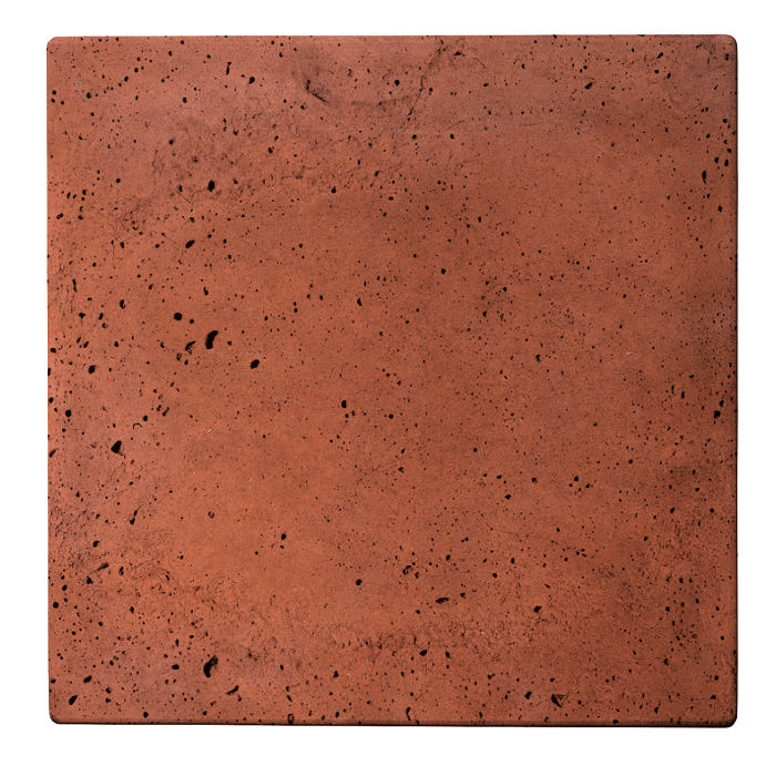 18x18x2 Roman Paver Mission Red Luna