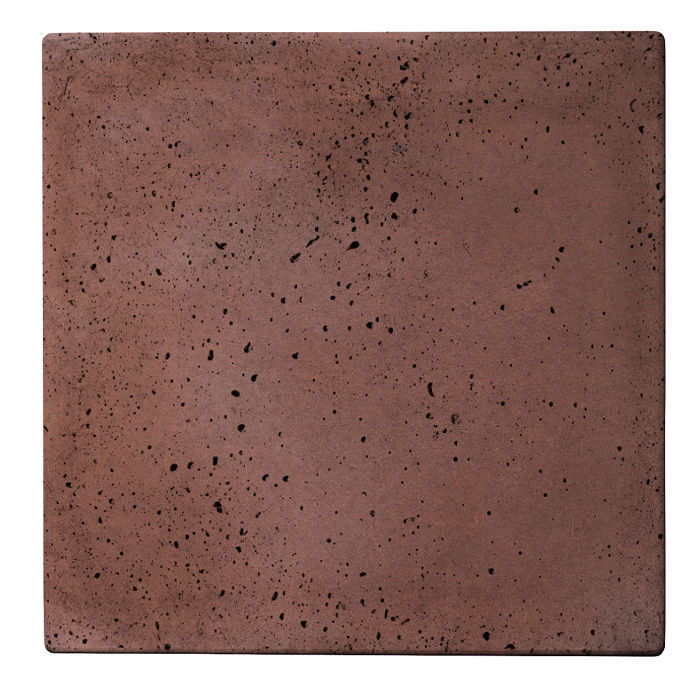 36x36x2 Roman Paver City Hall Red Travertine