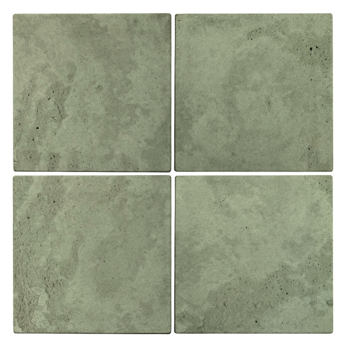 6x6x2 Roman Paver Ocean Green Light Limestone