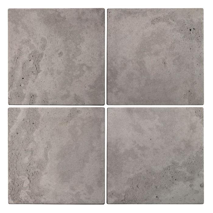 6x6x2 Roman Paver Sidewalk Gray Limestone