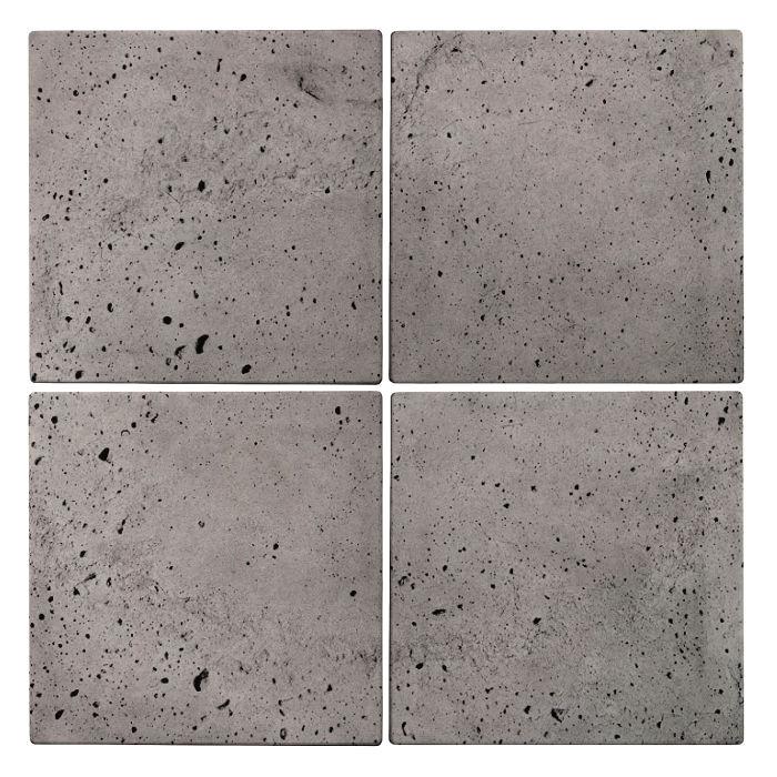 8x8x2 Roman Paver Sidewalk Gray Luna