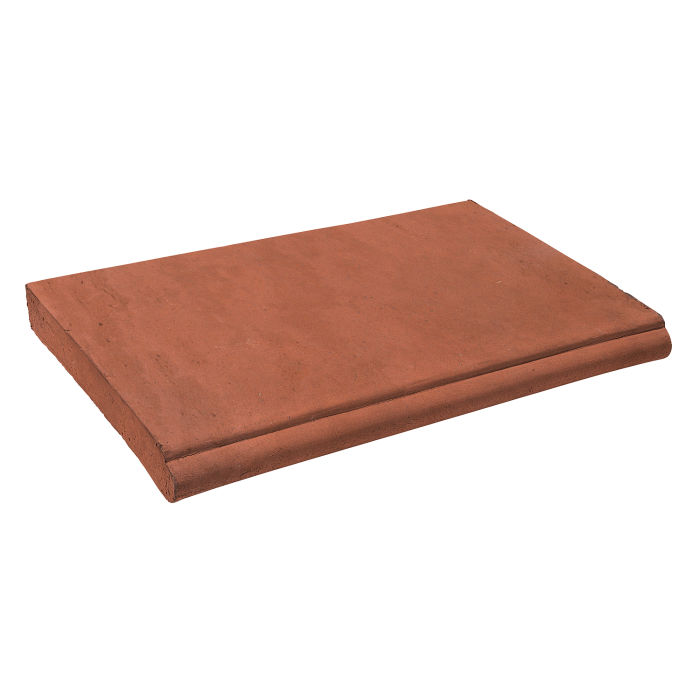 14x24 Roman Coping STYLE 1 Mission Red Limestone
