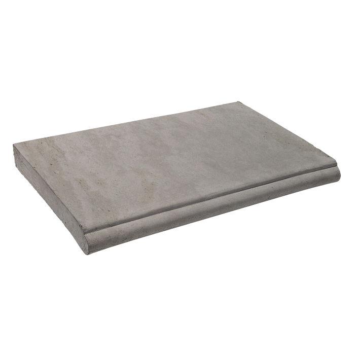 14x24 Roman Coping STYLE 1 Sidewalk Gray Limestone
