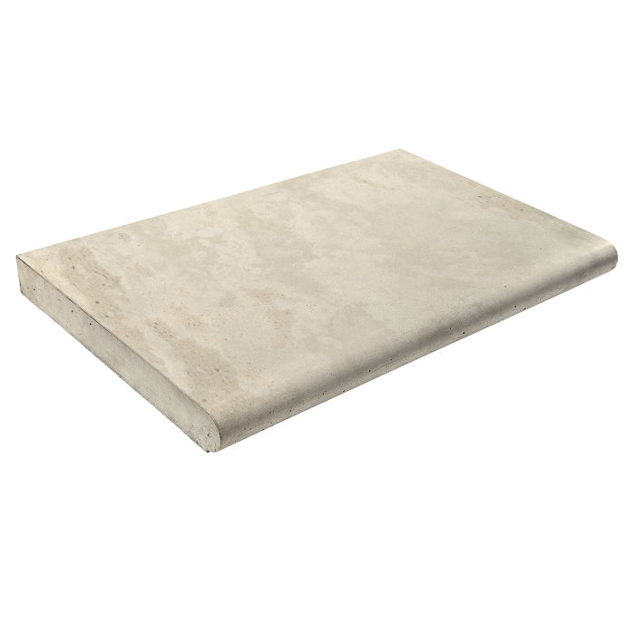 14x24 Roman Coping STYLE 2 Rice Limestone