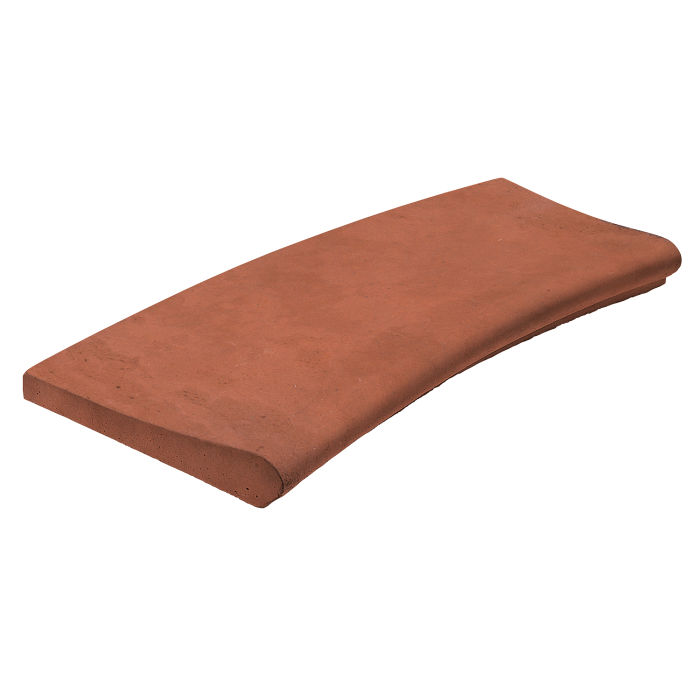 Medium Line 4' Inside Radius Mission Red Limestone