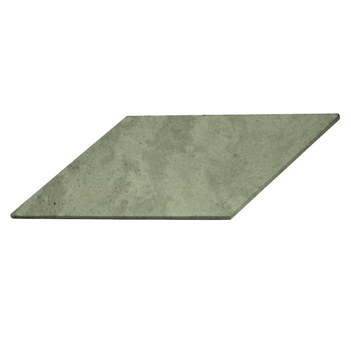12x24 Roman Tile Chevron A Ocean Green Light Limestone
