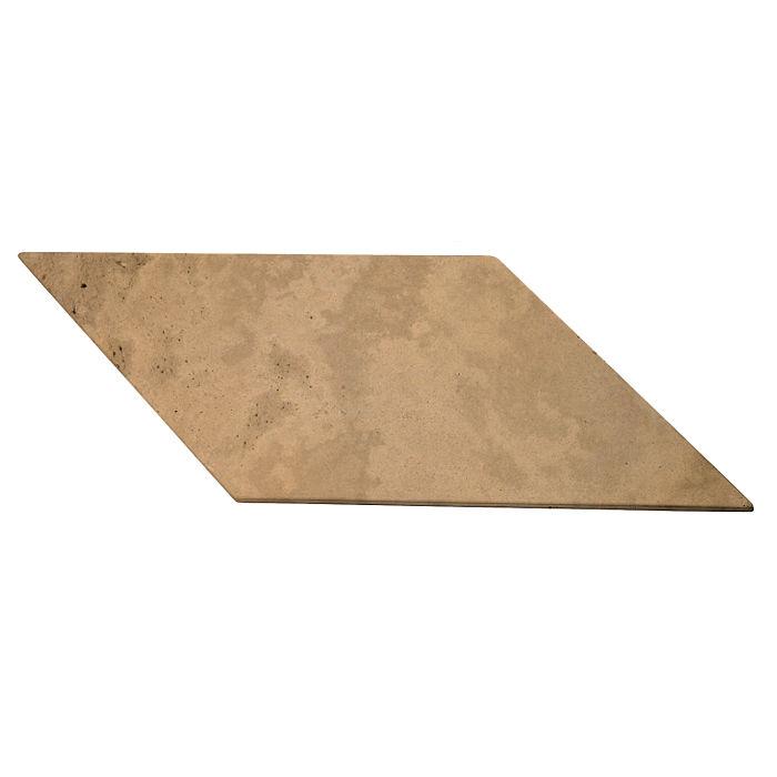 12x24 Roman Tile Chevron B Caqui Limestone