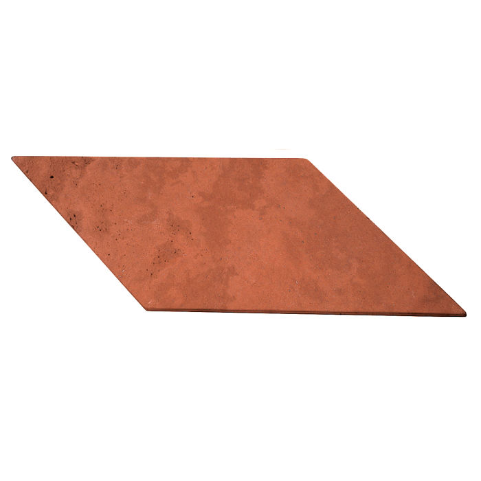 12x24 Roman Tile Chevron B Mission Red Limestone