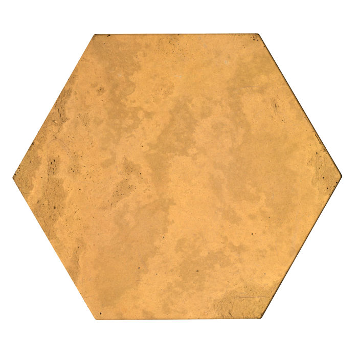 8x8 Roman Tile Hexagon Buff Limestone