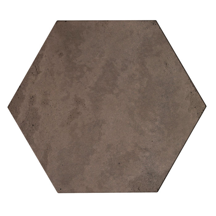 8x8 Roman Tile Hexagon Charley Brown Limestone