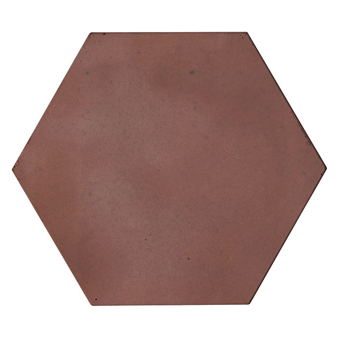 8x8 Roman Tile Hexagon City Hall Red