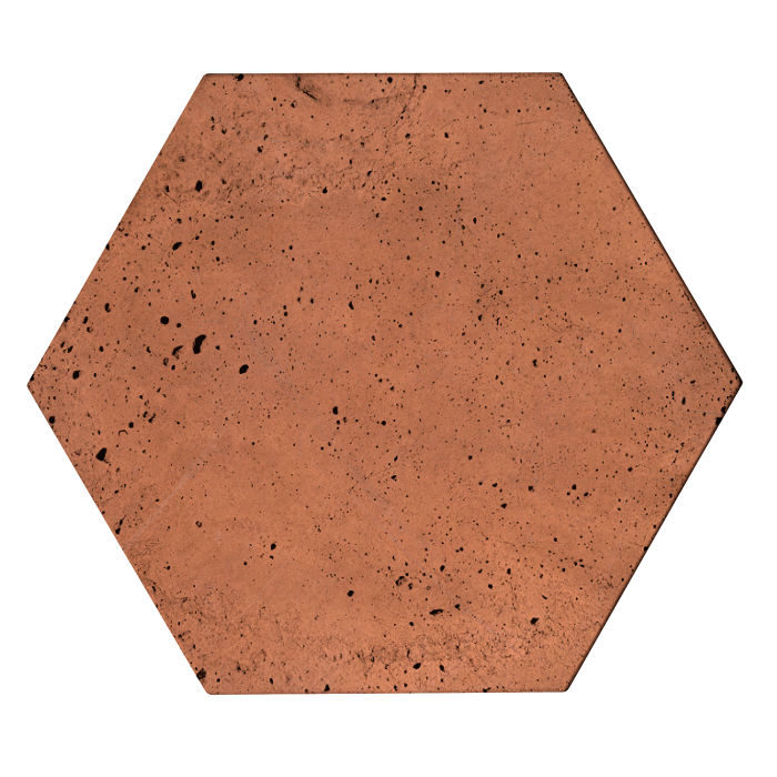 8x8 Roman Tile Hexagon Desert Luna