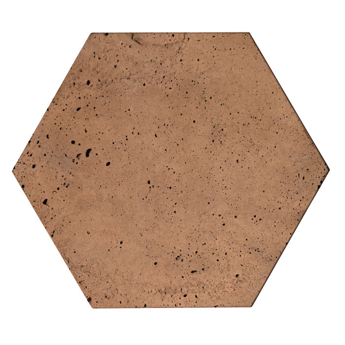 8x8 Roman Tile Hexagon Flagstone Luna