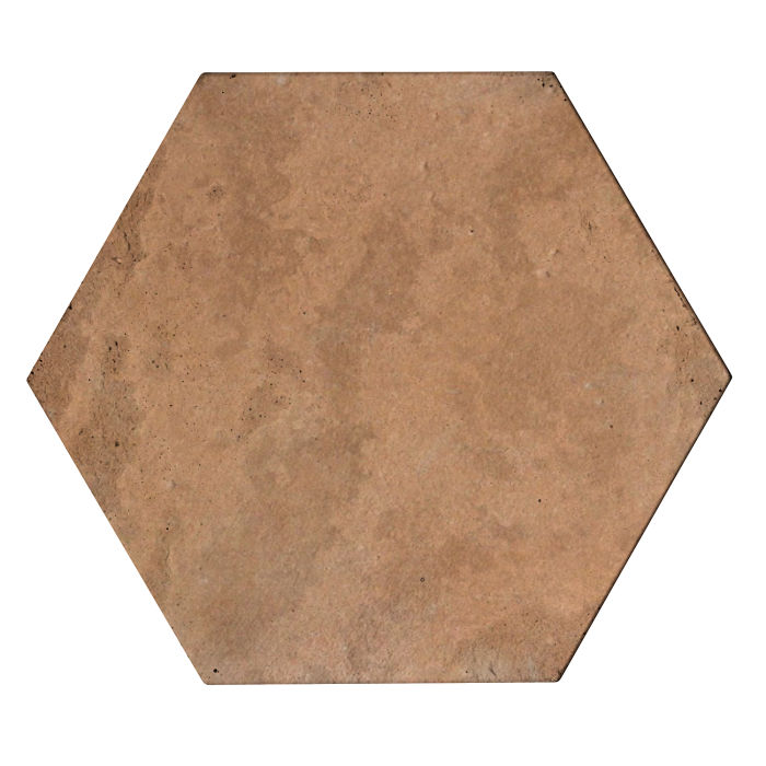 8x8 Roman Tile Hexagon Gold Limestone
