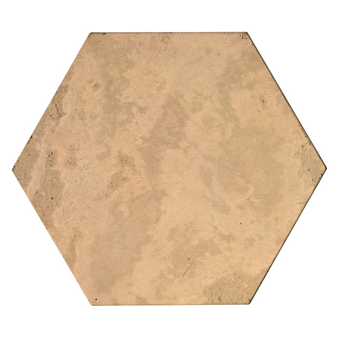 8x8 Roman Tile Hexagon Old California Limestone