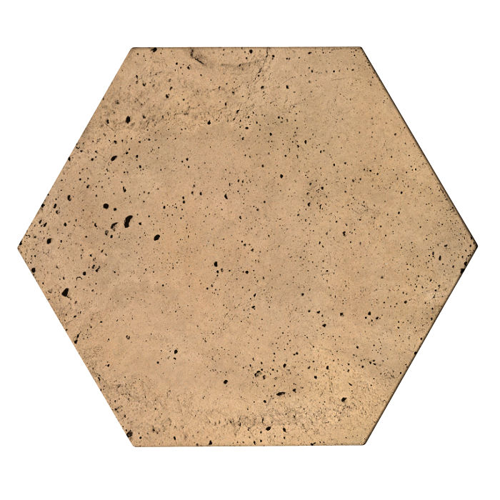 8x8 Roman Tile Hexagon Old California Luna