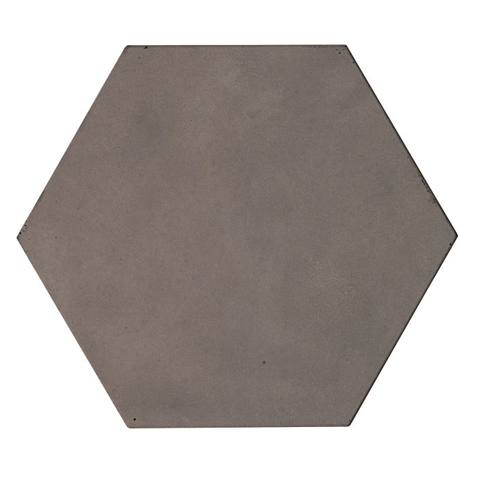 8x8 Roman Tile Hexagon Smoke