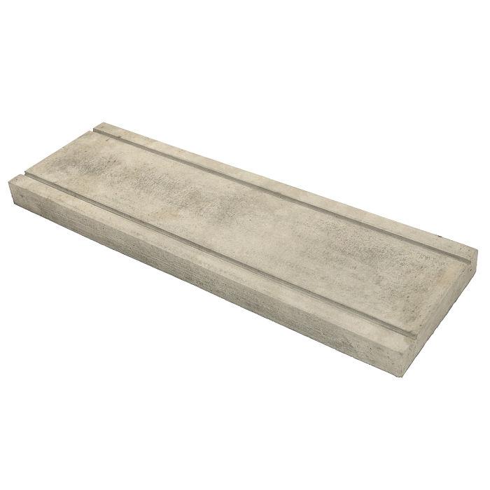 7.5x24 Roman PC-3 Early Gray Limestone