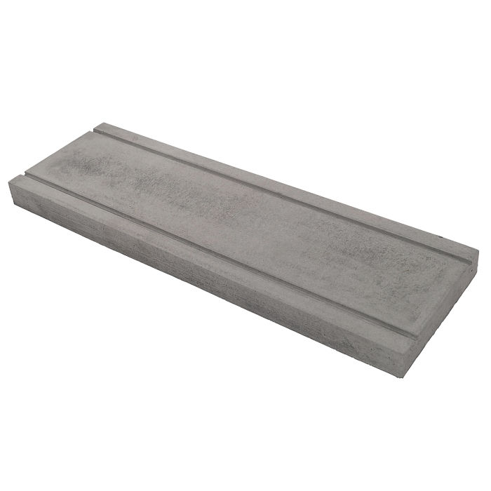 7.5x24 Roman PC-3 Sidewalk Gray