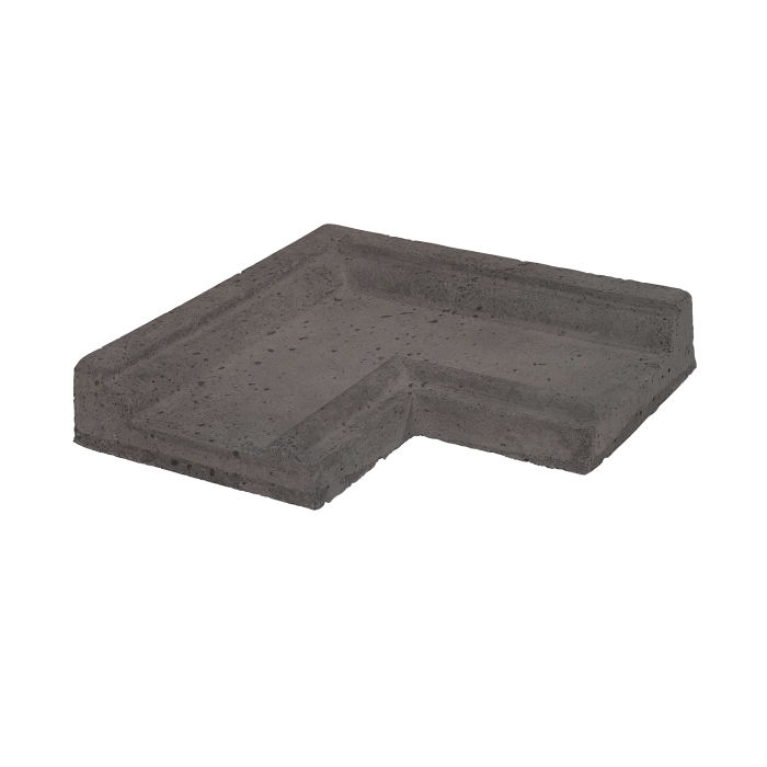 Roman PC-5 Corner Charcoal Travertine