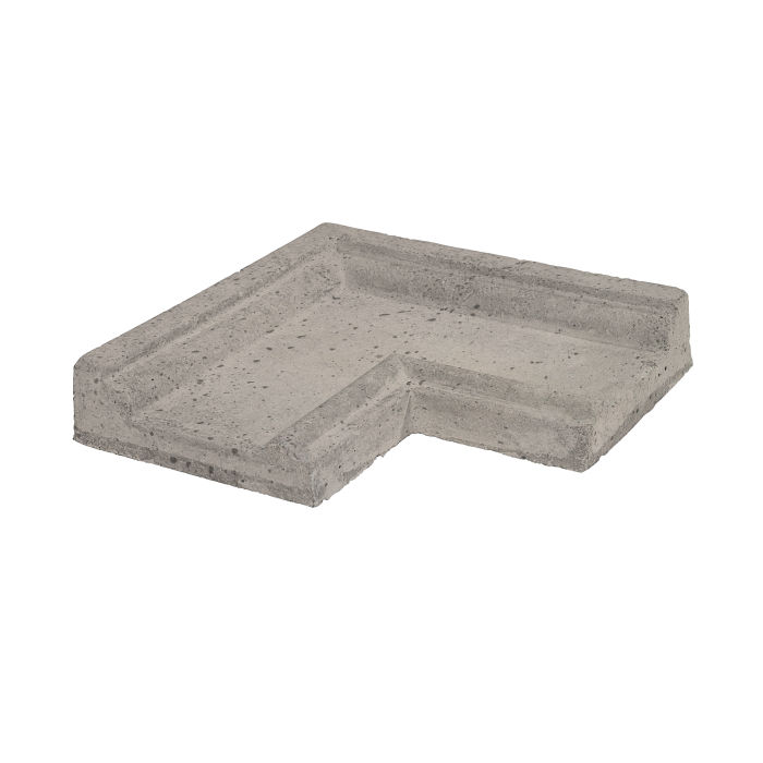 Roman PC-5 CornerNatural Gray Travertine