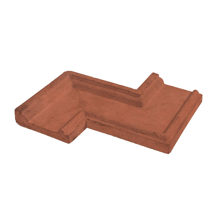 Roman PC-5 Zig Zag Corner Mission Red Limestone