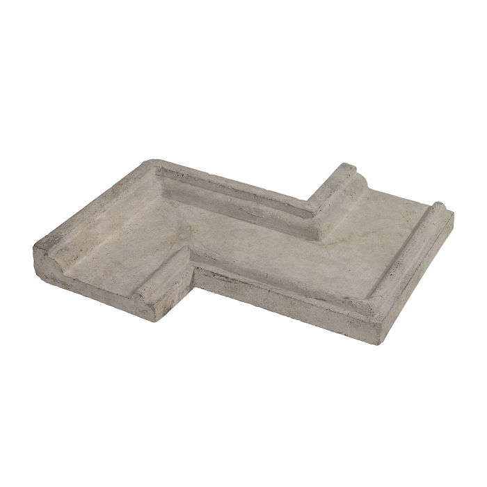 Roman PC-5 Zig Zag CornerNatural Gray Limestone