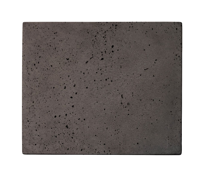 10x12 Roman Tile Charcoal Travertine