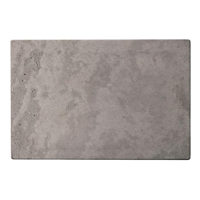 12x18 Roman Tile Sidewalk Gray Limestone