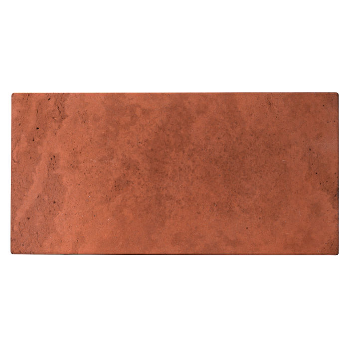 12x24 Roman Tile Mission Red Limestone