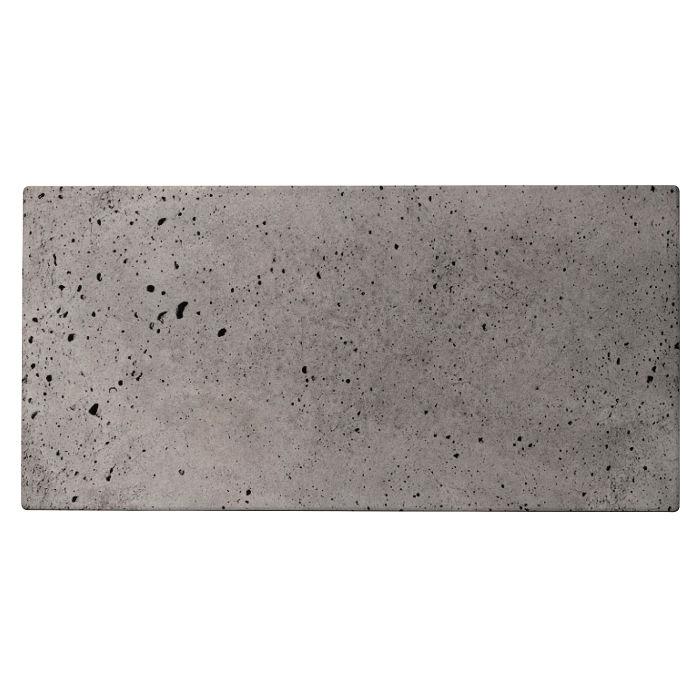 12x24 Roman Tile Sidewalk Gray Luna