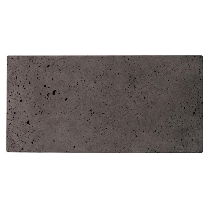 6x12 Roman Tile Charcoal Luna