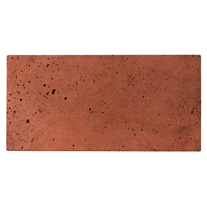 6x12 Roman Tile Mission Red Luna