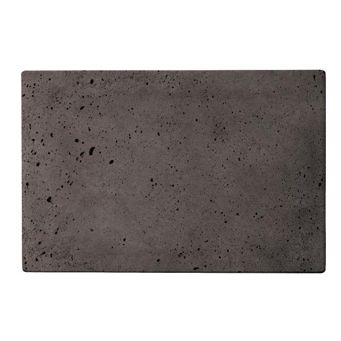 8x12 Roman Tile Charcoal Luna