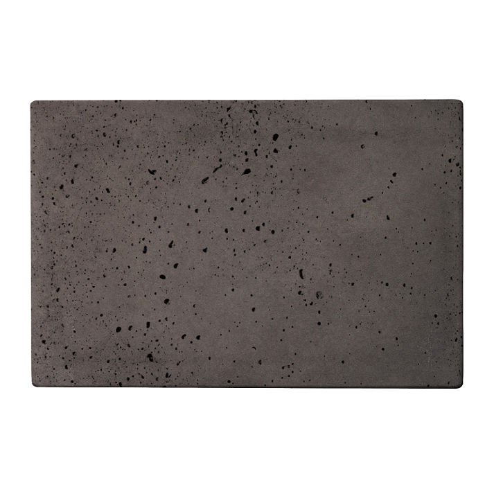 8x12 Roman Tile Charcoal Travertine