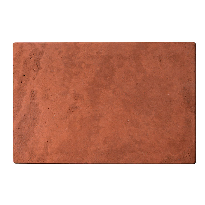 8x12 Roman Tile Mission Red Limestone
