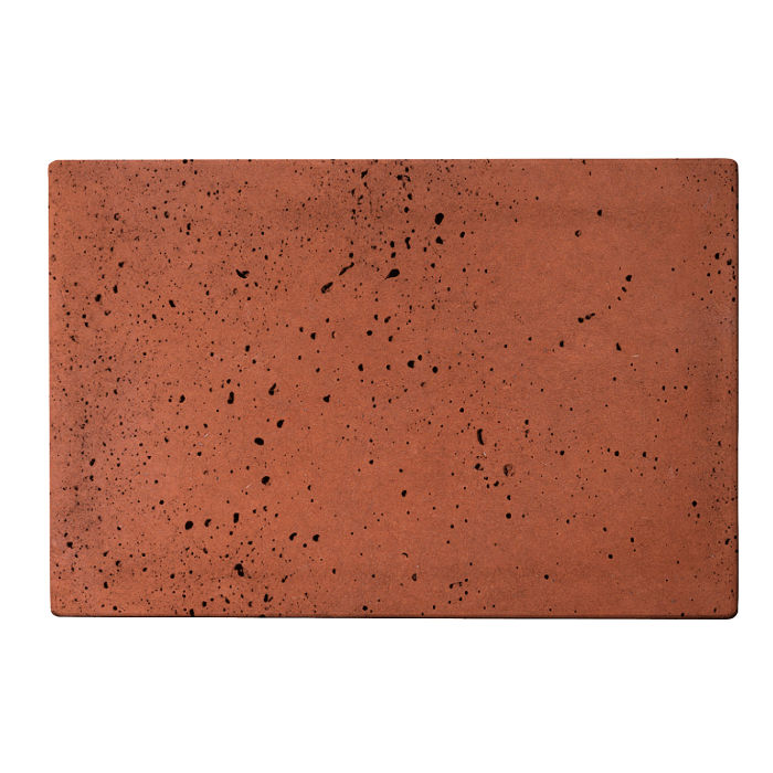 8x12 Roman Tile Mission Red Travertine