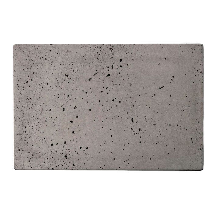 8x12 Roman Tile Sidewalk Gray Travertine